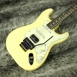 Fender Made In Japan Limited Stratocaster With Floyd Rose Vintage White