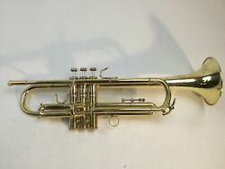Used Bach 43 Besson System Bb Trumpet Sn 69723
