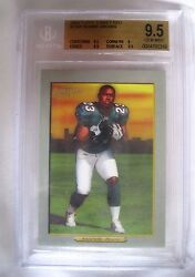 Ronnie Brown 2005 Topps Turkey Red Rookie190a Gem Mint Bgs9.5dolphins Rb Rc