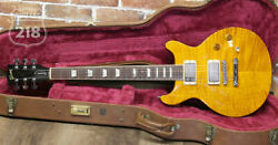 Gibson Les Paul Standard Double Cutaway Amber 1998 Made In United States 1998