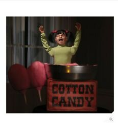 Animated Lifesize Cotton Candy Carnival Horror Display Halloween Prop - Candice