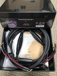 Transparent Gen 5 Plus Speaker Cable Psc10 Spade To Spade 06860g6 10ft. In Box