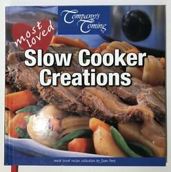 Cookbook 881 Company#x27;s Coming Most Loved Slow Cooker Creations Chicken Soup Stew