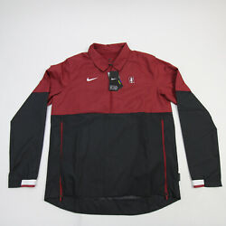 Stanford Cardinal Nike Onfield Pullover Menand039s Red/black New With Tags