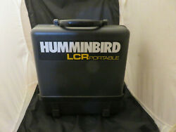 Humminbird Lcr 4id Portable Fish Finder W Transducer, Cover And Case Working