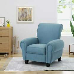 Del Monte Traditional Upholstered Pushback Recliner By Standard