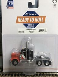 """1/87 Ho Scale, Athearn Kenworth """"canadian Pacific"""" Tractor"""