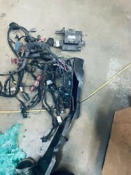 2018 Harley Davidson Road King Complete Wiring Harness With Ecm.