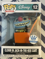 Clown In Jack-in-the Box Cart 12 Funko Pop Shop Exclusive Nightmare Christmas