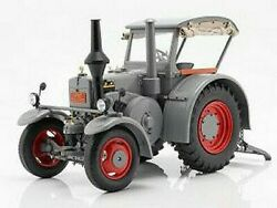 Lanz Bulldog D8506 Grey 1937 W/window And Roof Vintage Tractor 18