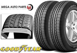 2 Goodyear Integrity 225/65r17 101s All Season Traction 460ab Passenger Tires