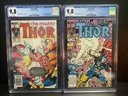 Thor 338 And 337 1st App Stormbreaker 2nd App Beta Ray Bill Newsstand 🔥