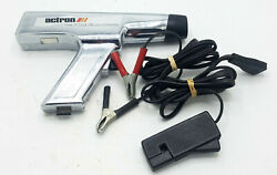 Actron Dc Power Clamp-on Timing Light L-204 Chrome + Leads - Works
