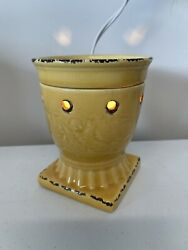 Scentsy Warmer Full Size Retired New Citron