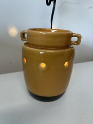 Scentsy Warmer Full Size Retired Used Maize