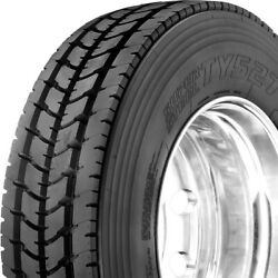 4 Tires Yokohama Ty527 295/75r22.5 Load H 16 Ply Drive Commercial