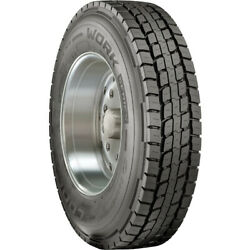 4 Tires Cooper Work Series Rhd 11r22.5 Load H 16 Ply Drive Commercial
