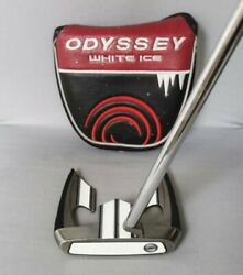 Rare Odyssey Centre Shafted White Ice Teron Putter 34 Only 1 On E Bay