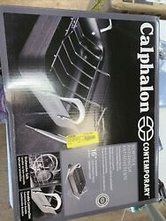 Calphalon Contemporary Nonstick 16-inch Roasting Pan With Rack, 5-piece Set New