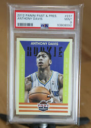 2012-13 Past And Present Anthony Davis Rookie Card Rc 237 Psa 9 Hornets Mint