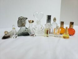 Vintage Mini Perfume Bottles Lot Of 12 Empty And With Perfume 4