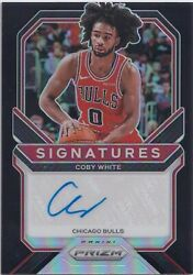 【dhl Express】2020-21 Panini Prizm Coby White Signatures Auto 1/1 Black 1of1