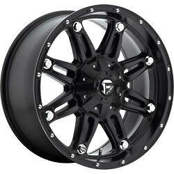 4- 20x9 Black Fuel Hostage 6x135 And 6x5.5 -12 Rims Trail Blade Mt 35 Tires