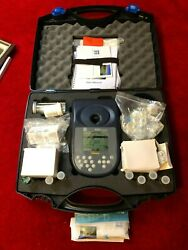 Ysi Model 9300 Photometer Kit + Carrying Case + Reagents + Other Equipment
