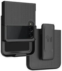 Hard Case Cover And Belt Clip Holster Combo For Samsung Galaxy Z Flip 3 5g Flip3