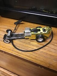 Vintage Ssp 1971 Kenner Gold Railbird With Rip Cord Andhellip.smooth And Tight Wheel