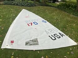 Laser Sailboat - Sail - Class Approved - Race Sail - Full Rig