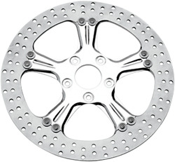 Performance Machine 01333015wras Wrath Two-piece Brake Rotor 13in Chrome Front