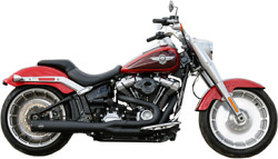 S And S Cycle 550-0846b 21 50 State Exhaust For M8 Softail Black