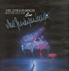 Axel Zwingenberger Boogie Woogie Live Signed By The Artist Near Mint Vinyl Lp