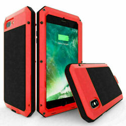For Iphone Xr Case Metal Armor Aluminum Cover Shockproof 3 Layer
