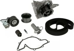 Engine Timing Belt Kit With Water Pump Gates Tckwp297a