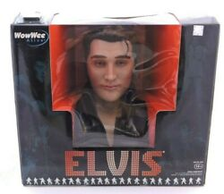 Wowwee Alive Elvis - Animatronic Singing And Talking Elvis Bust W/ Cartridge New