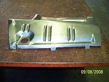 Charger Trunk Extension Filler Panel1971-72 Driv. Side...made In The Usa.....
