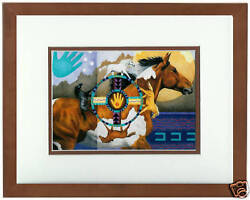 Wheels Of Change By Nancy Wood Taber Native American Open Edition Framed Print