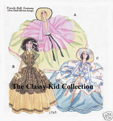 Pattern Pack 30 French Boudoir Doll Clothing Patterns