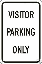 Real Visitor Parking Only Road Street Traffic Signs