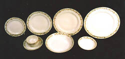 45-pieces Of Haviland France Schleiger 983 Pattern Fine China