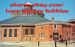 Lmh Postcard 1981 Baltimore And Ohio Bando Railroad Museum Mt Mount Claire Station