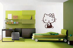 HELLO KITTY Wall Car Decal Sticker Highest Quality BIG or SMALL
