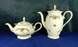 43-piece Lunch Set For 12 Of Rosenthal Rose Pat. 3158 German China