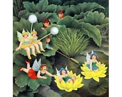 Pixies And Faries Beryl Cook Limited Edition Print