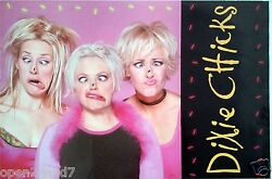 Dixie Chicks Fly 2-sided U.s.promo Poster-flies On Their Noses And Album Artwork
