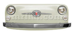 Fiat 500 234 Ancient Ivory Colored Front Panel Car Art New