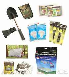 Ultimate Survival Knife Shovel Axe And Emergency Camping Hiking Survival Tool Gear