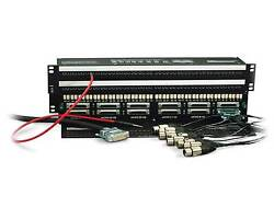 Audio Accessories 96 Point Tt Patchbay Mini Shorti Db25 Patchbay Free Tt Cables